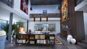 Raumteiler Ideen für große Räume
